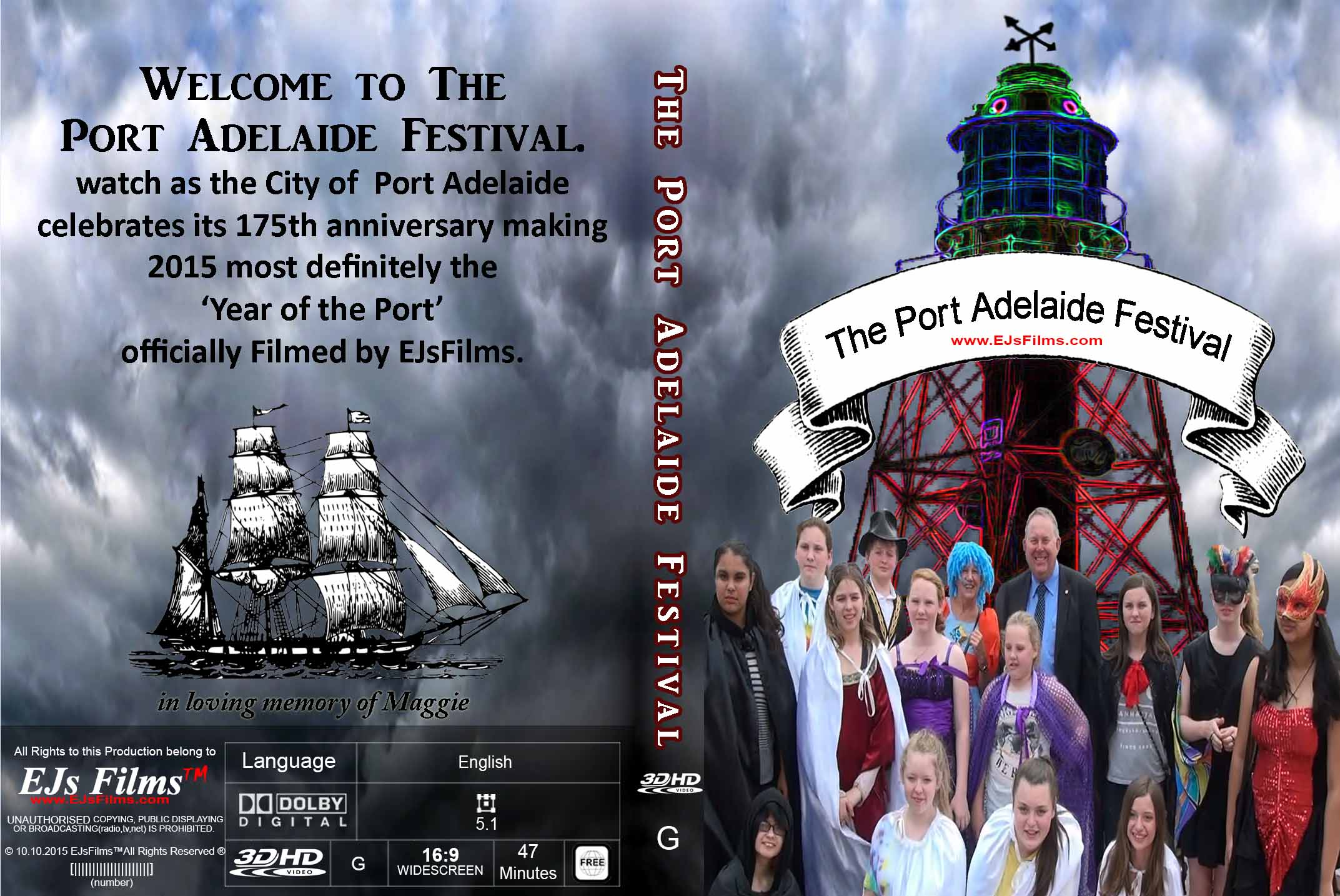 The Port Adelaide Festival (3D) | G | Documentary | 2015 | by EJsFilms.com -